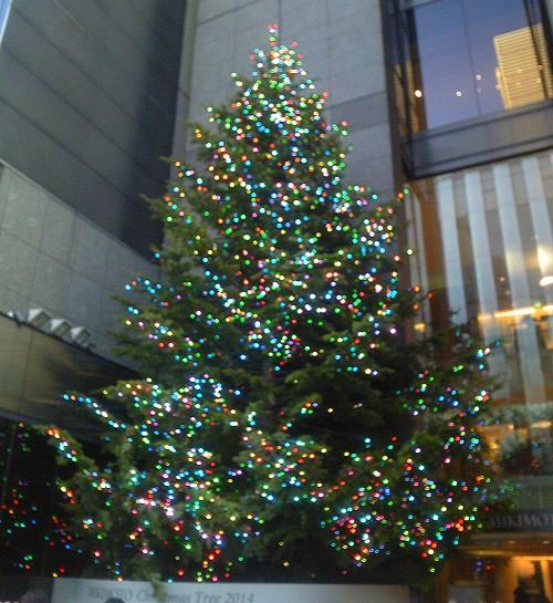 ミキモト クリスマスツリー